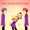 cake solves everything
