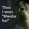 a walking encyclopedia of weirdness: jared mwahahahah