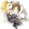 Harry & Draco Snuggle