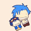 escuro_sama: Kamina/Simon - Chibi :D