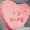 it's wrong