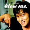 三谷: blow me {maru}