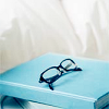 MISC ☆ reading (book & glasses)