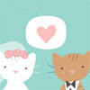 marriage- kitties!