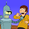 A bit of a gigglepuss: Bender