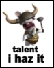 rabbid:  talent