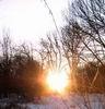 sneg i solnce
