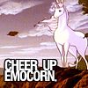 last unicorn - cheer up emocorn