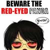 red-eyed panda