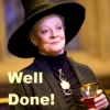 morethansirius: McGonagall -  Well Done