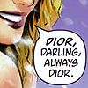 Other → dior darling comic