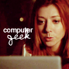 Lady Manson: Buffy - willow computer geek