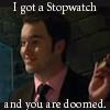 Sam: You are doomed - Ianto & Stopwatch
