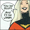 Distracted One: emma: you be scott i be jean