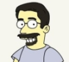 Matthew B. Tepper: Burger King Simpsons simpsonizeme beard