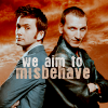 doctor/ninth doctor aim to misbehave