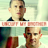 Uncuff my brother!