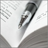 ручка в книге