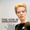 Star Trek Seven's Icon is irrelevant