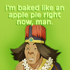 i might be barely breathing, but i'm not dead.: chong // mmm... pie!