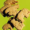 animal crackers, yum!