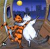 коты_гуляют