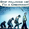 creationist vs. evolutionist [iconomicon