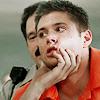 Dean face grab