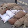 Logan: sandbags