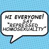 The lecherous old man: REPRESSED HOMOSEXUALTIY