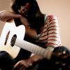 Rebecca Rothwell and Guitar