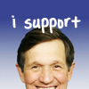 I support Kucinich