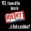 I'm a renthead!