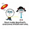 boys make good pets