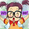 animemiz: Happy (Dr. Slump) (Arale)
