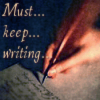 must keep writing