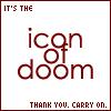 icon of doom!