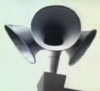 shiny object detector: loudspeaker