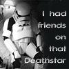 sad picture of girl getting bitterer: Sad Stormtrooper