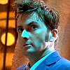 Doctor Who: 10 - blue smirk look