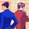 Phoenix/Edgeworth (::dokuji_graphics::)