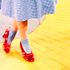 Dorothy - ruby slippers