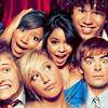 smile, and keep on going.: [cast=HSM] photobooth fun.