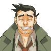 Dick Gumshoe: grin