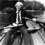 Warhol rowing