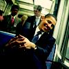 barack obama// smile