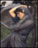 woman draped
