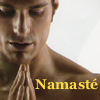 Ben / KC_Risen Phoenix!: Namasté Man with Praying Hands