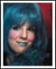 Milla blue wig