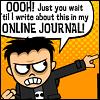 just you wait until I blog